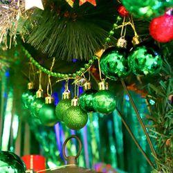 크리스마스 장식볼 오너먼트 3cm 20입 (그린)