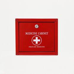 (khhl186)메탈 약보관함(소)(RED)