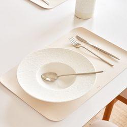 모던 인테리어 사각형 북유럽 가죽 식탁매트 테이블매트