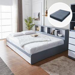 하이덴 파티션 수납형 침대(Q) + 유로탑 매트리스