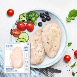올핏 염분무첨가 저염식 닭가슴살 10팩