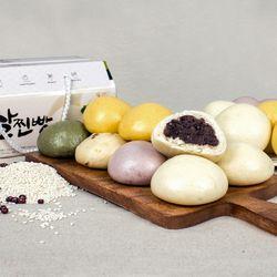 원주 수제 오색 쌀찐빵 20개 (1.4kg)