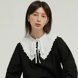 DETACHABLE LACE COLLAR (WHITE)