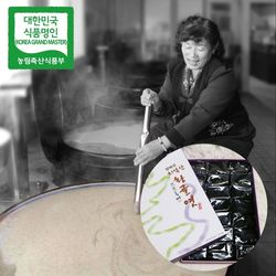 장바우 치악산 황골엿 흑미엿 800g