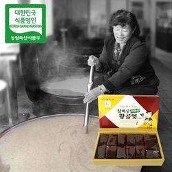 장바우 치악산 황골엿 생강엿 1kg