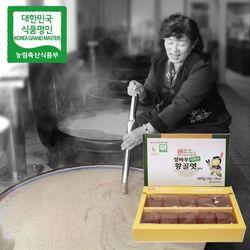 장바우 치악산 황골엿 생강엿 400g
