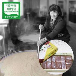 장바우 치악산 황골엿 갱조각엿 1kg