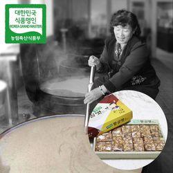 장바우 치악산 황골엿 땅콩깨조각엿 1kg