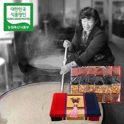 장바우 치악산 황골엿 4색엿 4.5kg