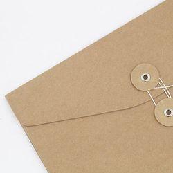 크라프트 하도메 봉투 서류 케이스 A5 가로형