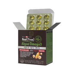 [뉴네이처] 리얼트루 식물성 오메가3 700mg x 60캡슐