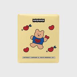Covy heart-cream yellow(3hole diary)