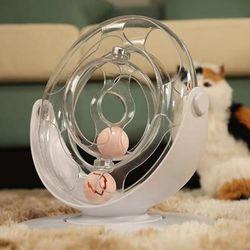 360도회전 스탠딩 고양이 장난감공 턴테이블