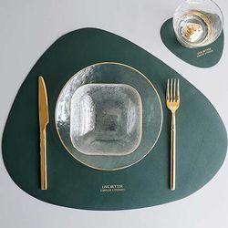 Modern 방수 식탁 Table MAT 45.5x37cm 컵받침포함