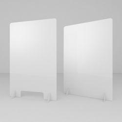 코로나 예방차단 아크릴 가림막 (600x900) 고급형