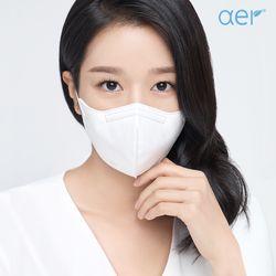 어드밴스드 KF94 마스크 화이트 10매