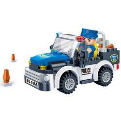 [반바오] BO7017 경찰차-풀백 모터