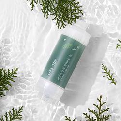 라이프썸 샤워필터 (LFS-BS01) 비 내린 장성 편백나무숲