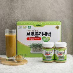 괴산 김종태 농부 브로콜리새싹분말세트 80g x 2개입