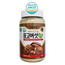 괴산 김종태 농부 자연농푸드 표고버섯분말 130g