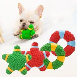 키밍 강아지 라텍스 장난감 삑삑이 애견 놀이 공 인형