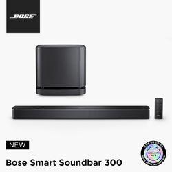 [BOSE] 보스 정품 Smart Soundbar 300 + 베이스 모듈 500