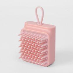 자극없는 실리콘 샴푸브러쉬(핑크)
