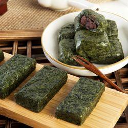 정선 수리취 혼합떡 600g (인절미6개+찹쌀떡6개)