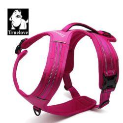 대형 강아지 가슴줄 하네스 산책 목줄 리드줄 핑크