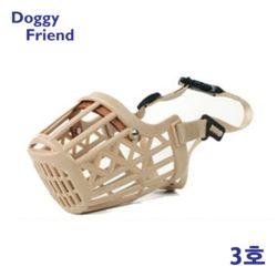 강아지 애견 짖음 물음 방지 국산 입마개 3호 마스크