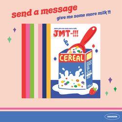 엽서03. JMT cereal