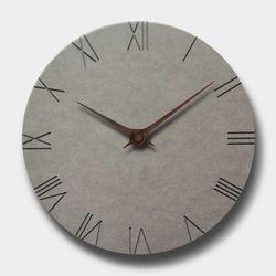 브론즈하우스 MSC-002 각인벽시계-무소음