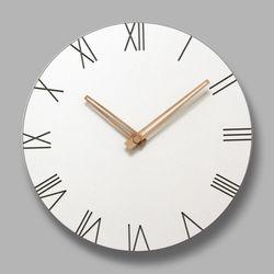 브론즈하우스 MSC-004 각인벽시계-무소음