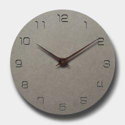 브론즈하우스 MSC-006 각인벽시계-무소음