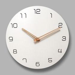 브론즈하우스 MSC-008 각인벽시계-무소음