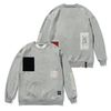DV TECH OVERSIZED HEAVY SWEAT CREWNECK GREY