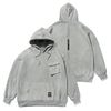 20 TECH OVERSIZED HEAVY SWEAT HOODIE GREY