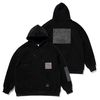 DV TECH OVERSIZED HEAVY SWEAT HOODIE BLACK