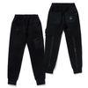 20 TECH HEAVY SWEAT JOGGER PANTS BLACK
