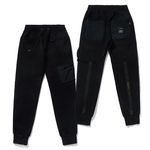 20 TECH HEAVY SWEAT JOGGER PANTS BLACK