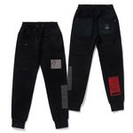 DV TECH HEAVY SWEAT JOGGER PANTS BLACK