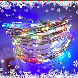 LED 전구 가랜드 크리스마스 겨울 인테리어 데코 장식