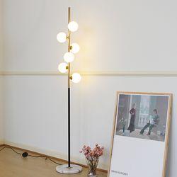 LED 코울 장스탠드 (LED램프 포함)