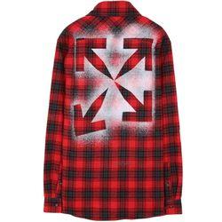 오프화이트 OMGA133E20FAB0012510 셔츠