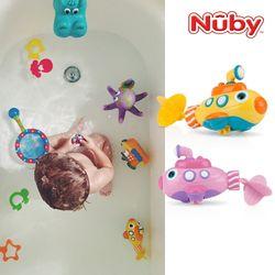 누비 아기목욕장난감 잠수함 2Color