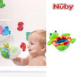 누비 아기목욕장난감 거북이 폭포