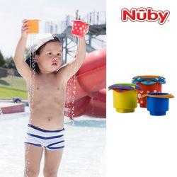 누비 아기목욕장난감 컵쌓기 놀이