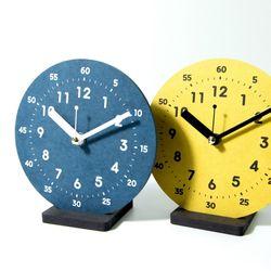 브론즈하우스 VTC-010 컬러보드 교육용 탁상시계-무소음
