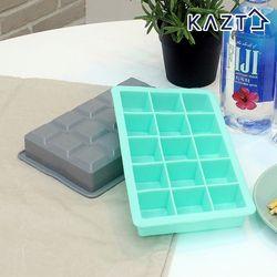 파스텔 실리콘 아이스큐브 원형 얼음틀 사각 15구 2colors