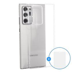 갤럭시 S10 5G 에어제트 변색없는 투명 PC 케이스